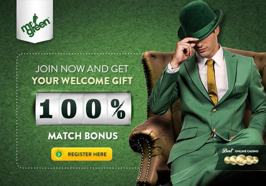 Mr Green Mobile Casino No Deposit Bonus